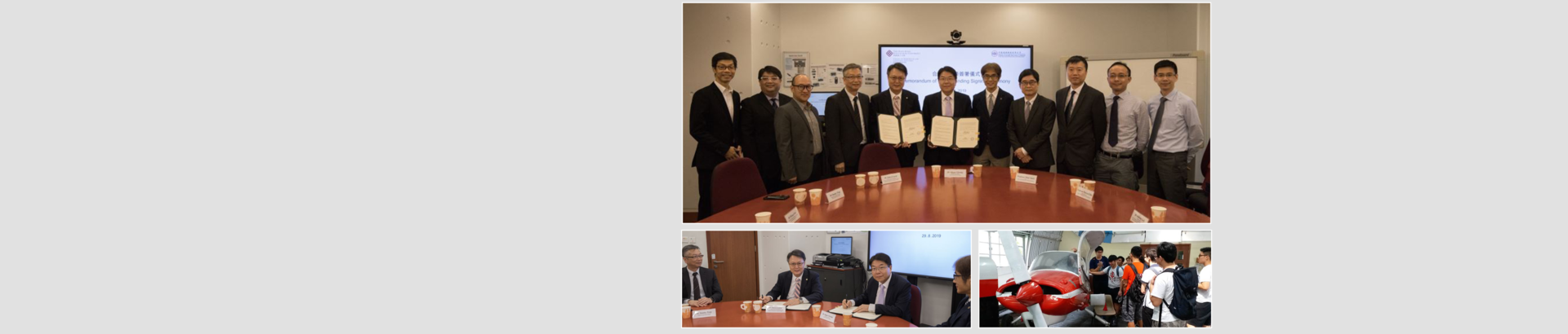 Signing of MoU between CPCE and China Aircraft Services Limited