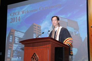 PolyU President and CPCE Council Chairman, Prof. Timothy W. Tong