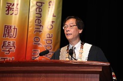 PolyU President and Council Chairman of College of Professional and Continuing Education (CPCE), Prof. Timothy W. Tong