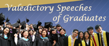 Valedictory Speeches of Graduates